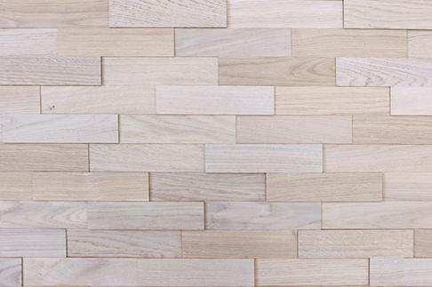 plaquettes de parement bois WoodWall chêne arctique