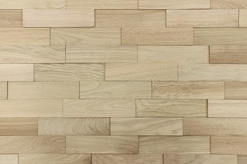 plaquettes de parement bois WoodWall chêne nature