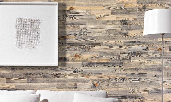mur en lambris de bois