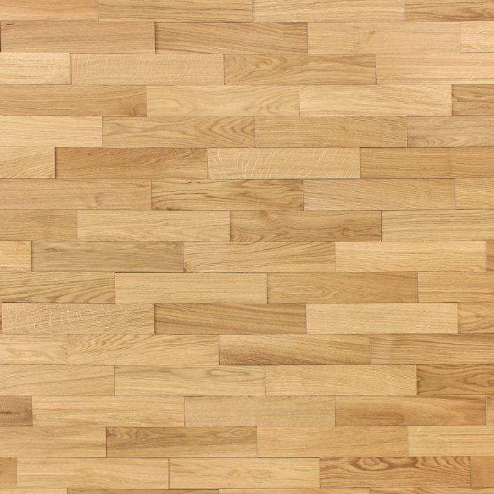Mur bois chêne huilé