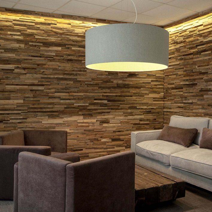 Mur en bois Taiga