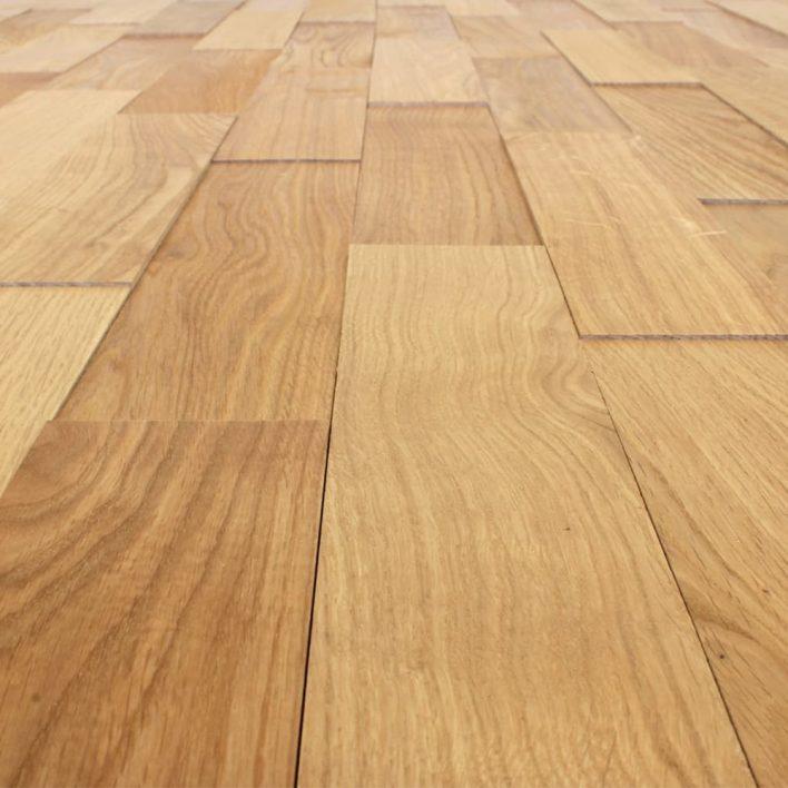 Parement bois chêne huilé