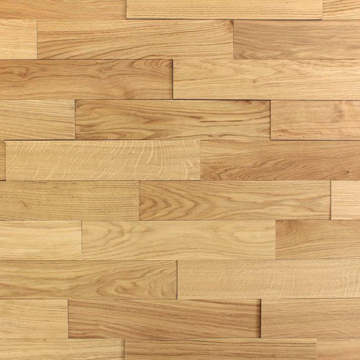 Plaque en bois chêne huilé