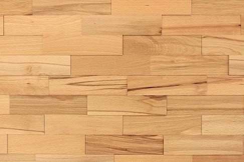 Plaquette de parement bois hêtre