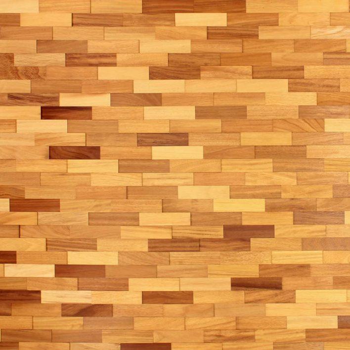 plaquettes de bois woodwall iroko