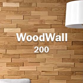 Plaquettes de parement bois woodwall 200 mm
