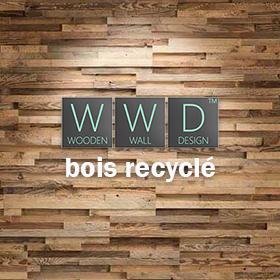 Revêtement mural bois recyclé Wooden Wall