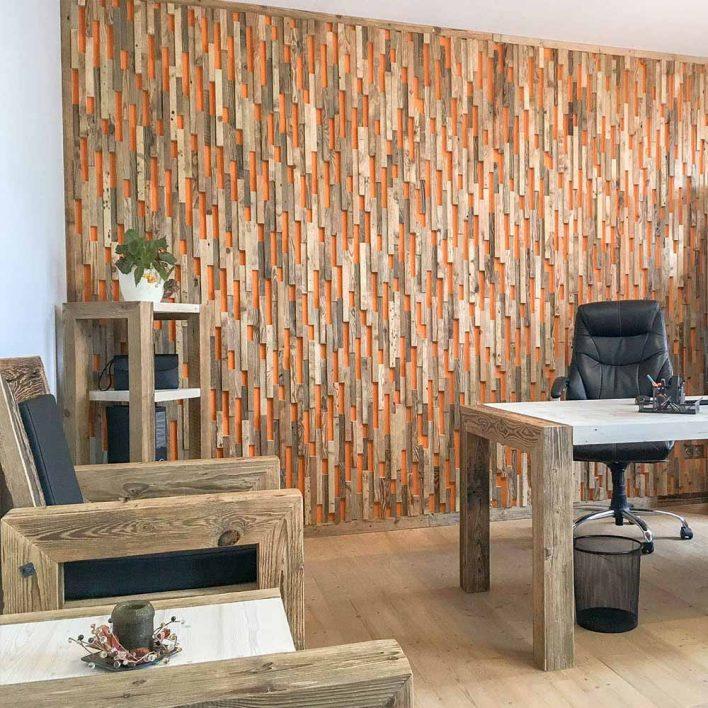 mur interieur bois
