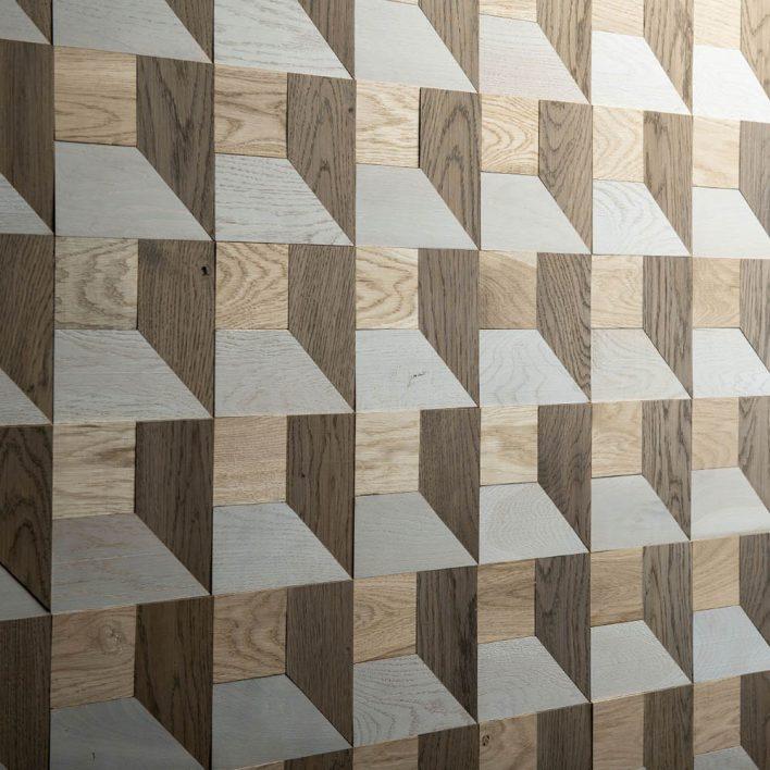 mur parement bois