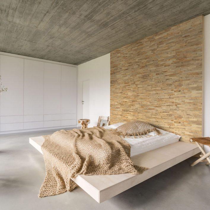 Mur bois décoratif