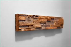 Habillage mural bois
