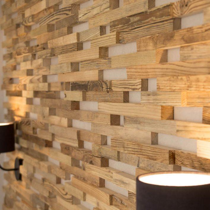 parement mural bois wooden wall design