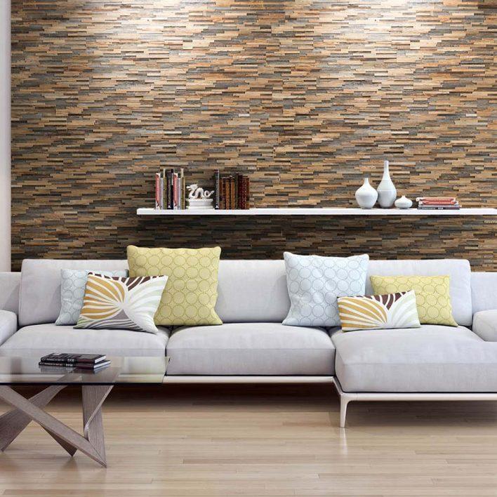 parement mural bois