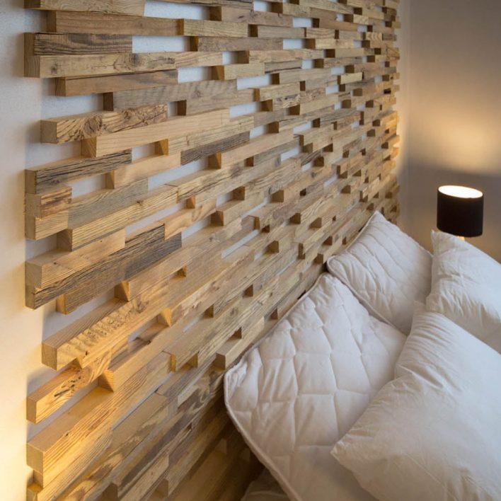 revetement mural bois massif