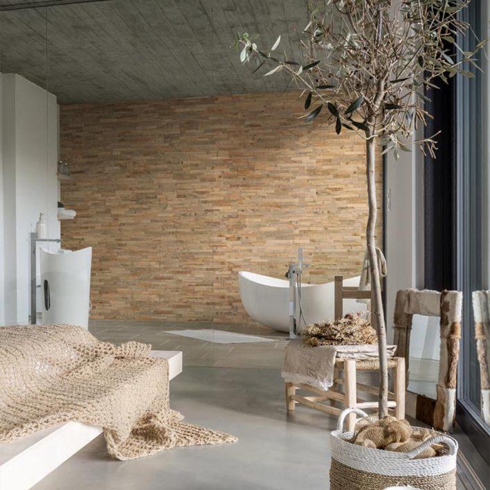 Mur en bois decoratif Opus