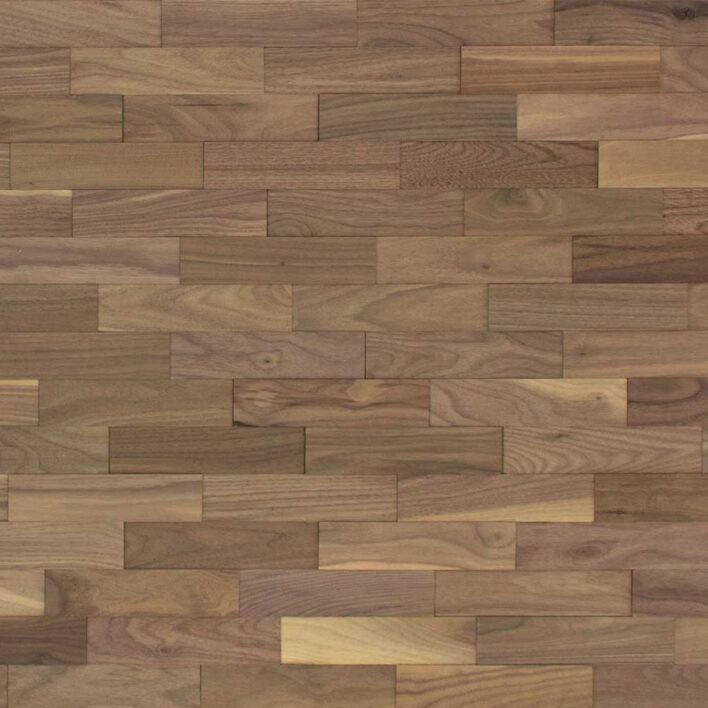 mur en bois de noyer