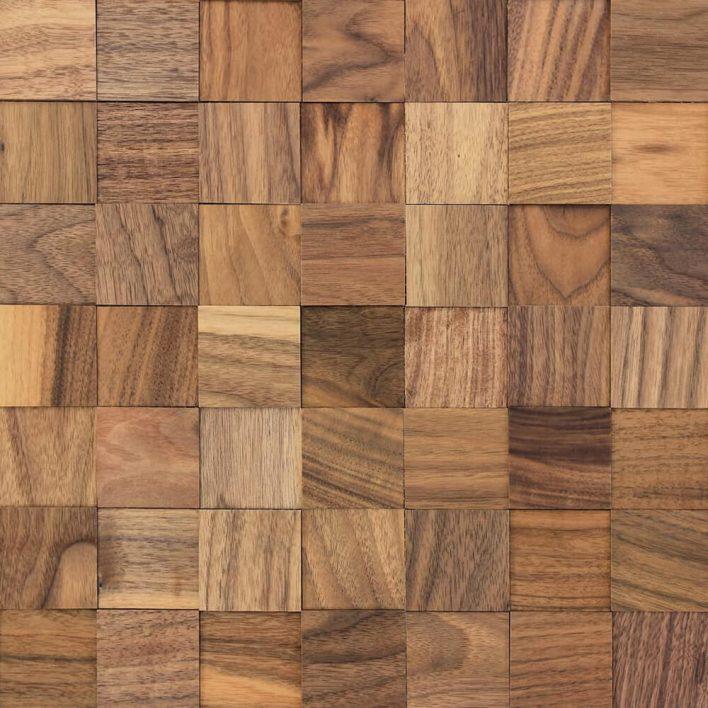 mur en bois adhésif