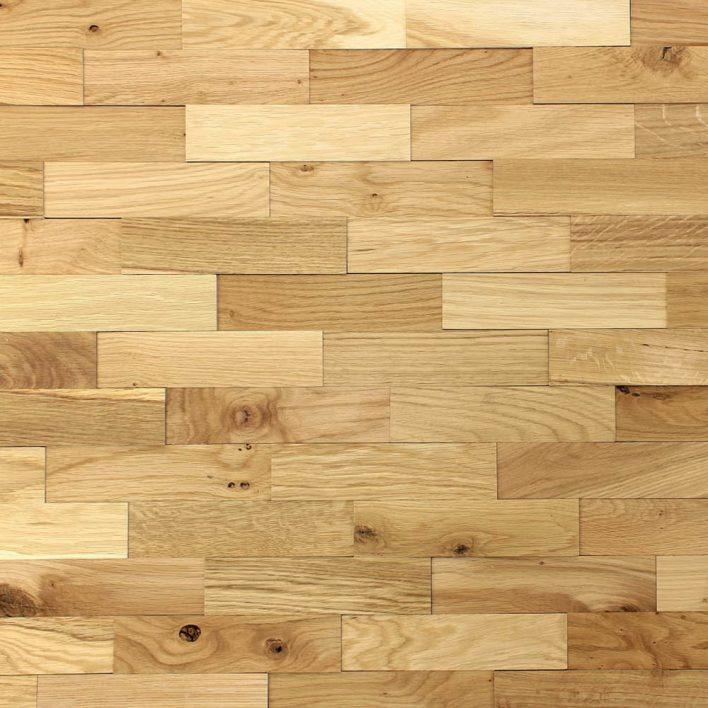 plaquette parement en bois