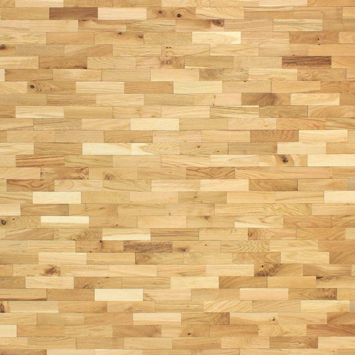 mur plaquette bois