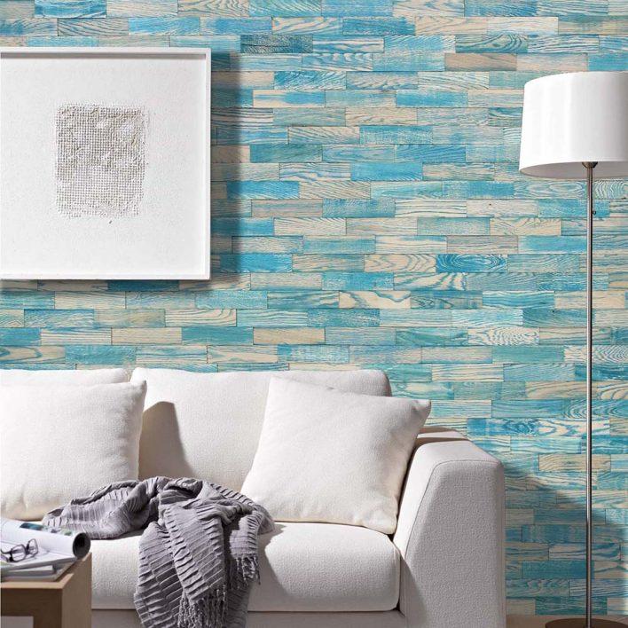 lambris mural bois 3d
