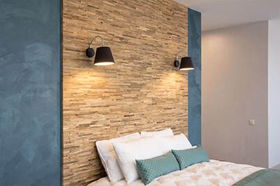 tête de lit bois largeur du lit
