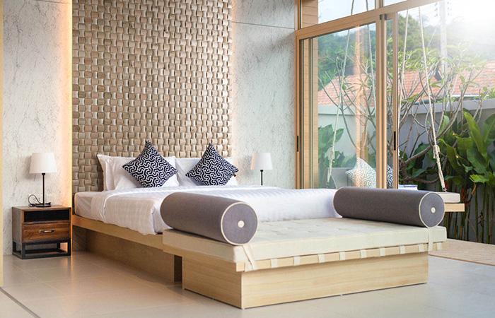 idee tete de lit bois