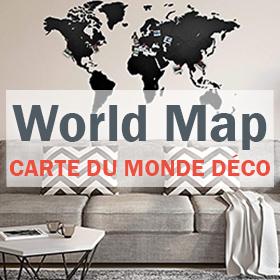 Carte du Monde Déco