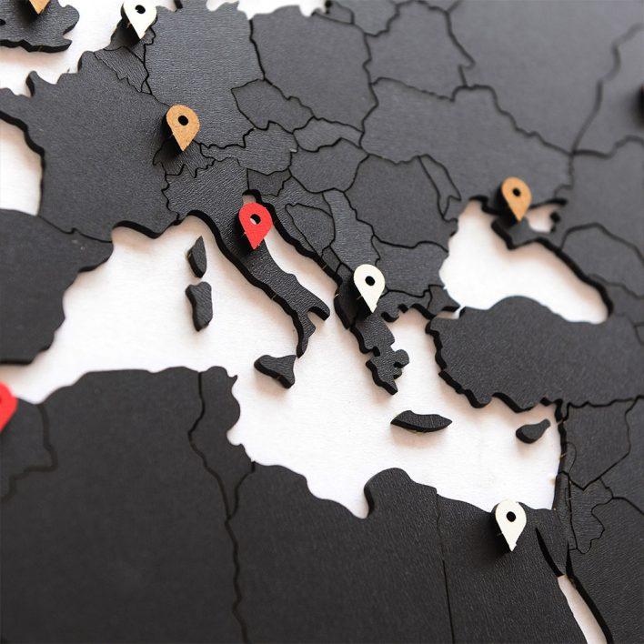 carte du monde en bois maison du monde