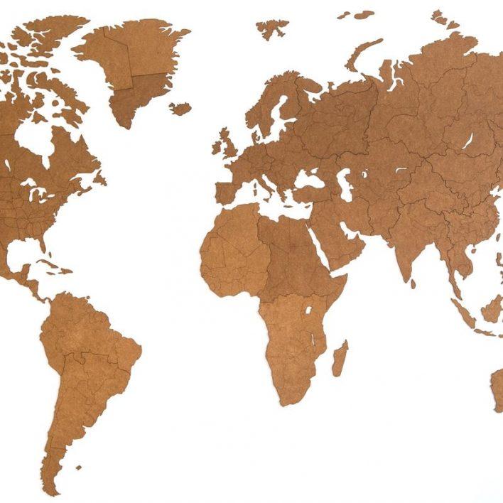 carte du monde grand format