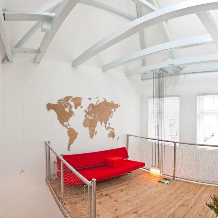 carte du monde design