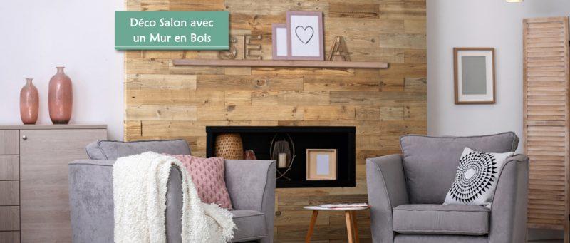Mur en Bois Salon