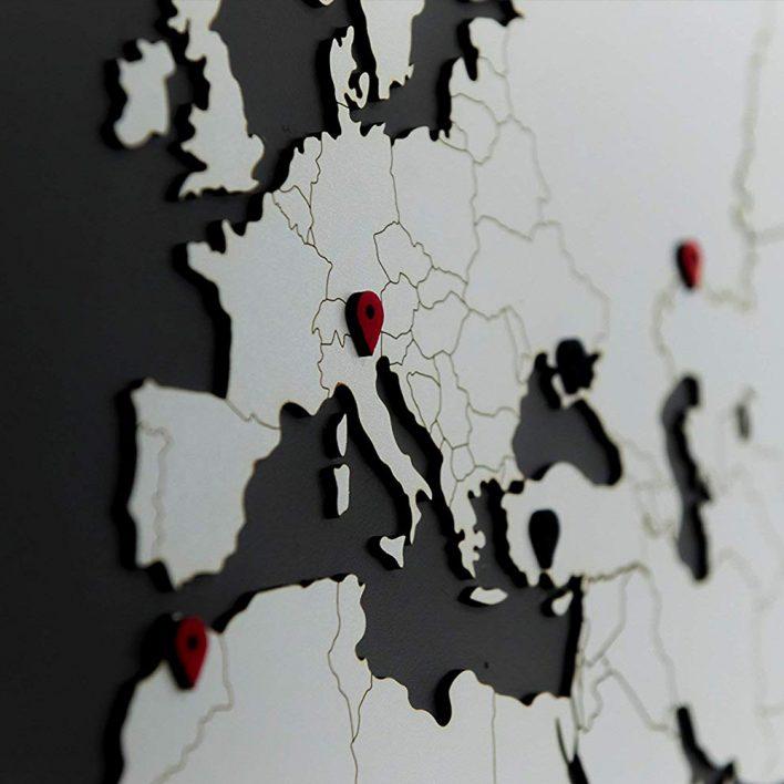 carte du monde murale déco carte du monde