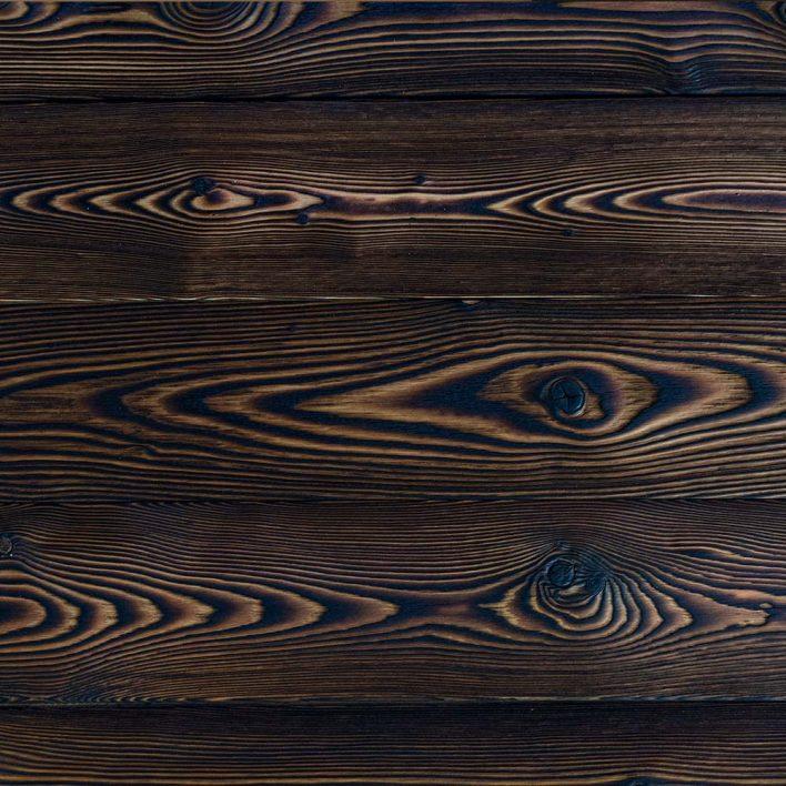 technique bois brulé