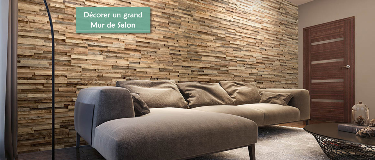 Décorer un grand Mur de Salon