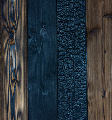 bois noir japonais