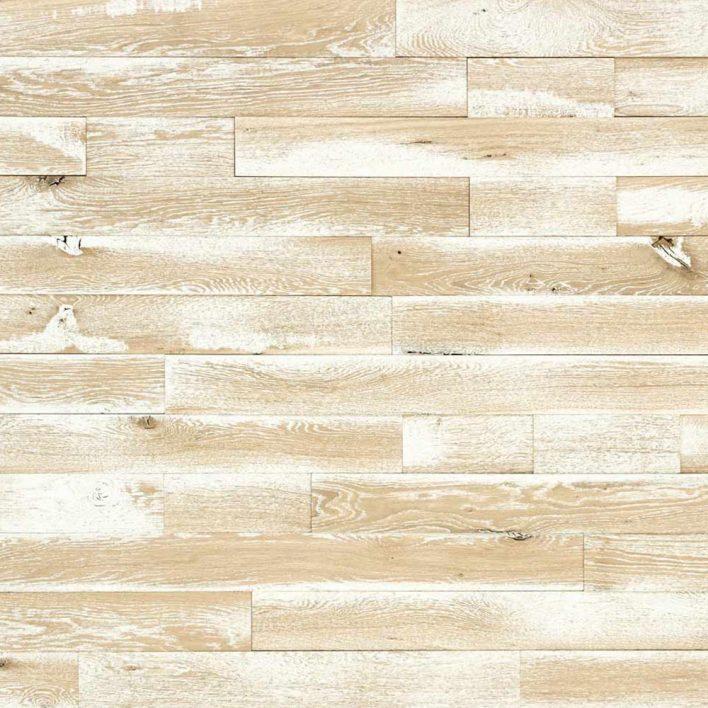 mur bois blanc