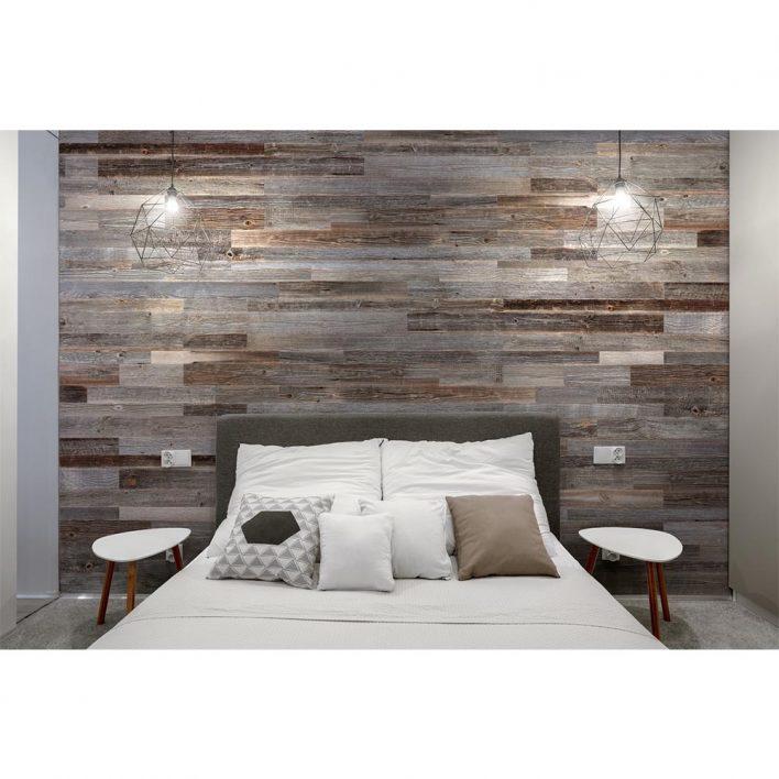 deco mur en bois planche