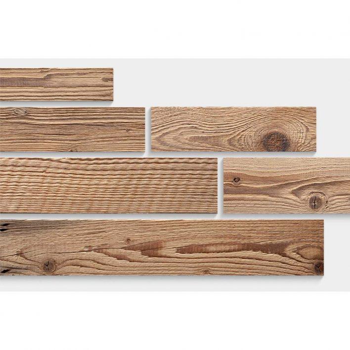 deco mur planche bois brut