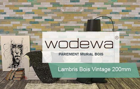 Lambris bois vintage