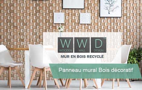 Panneau Mural Bois décoratif