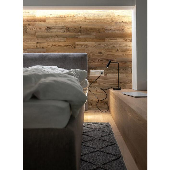 deco tete de lit bois