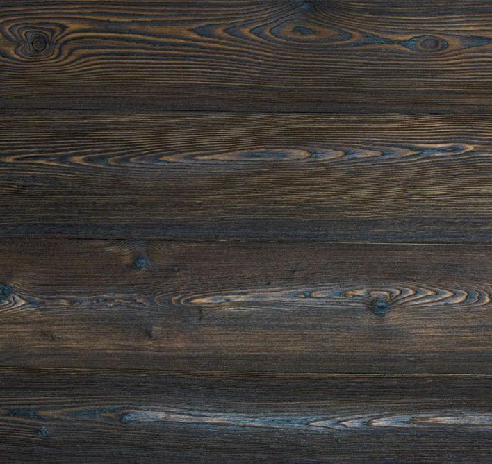 bois brulé bardage