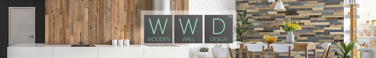 Mur en bois intérieur décoratif