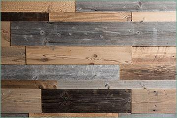 lambris mural bois vieilli