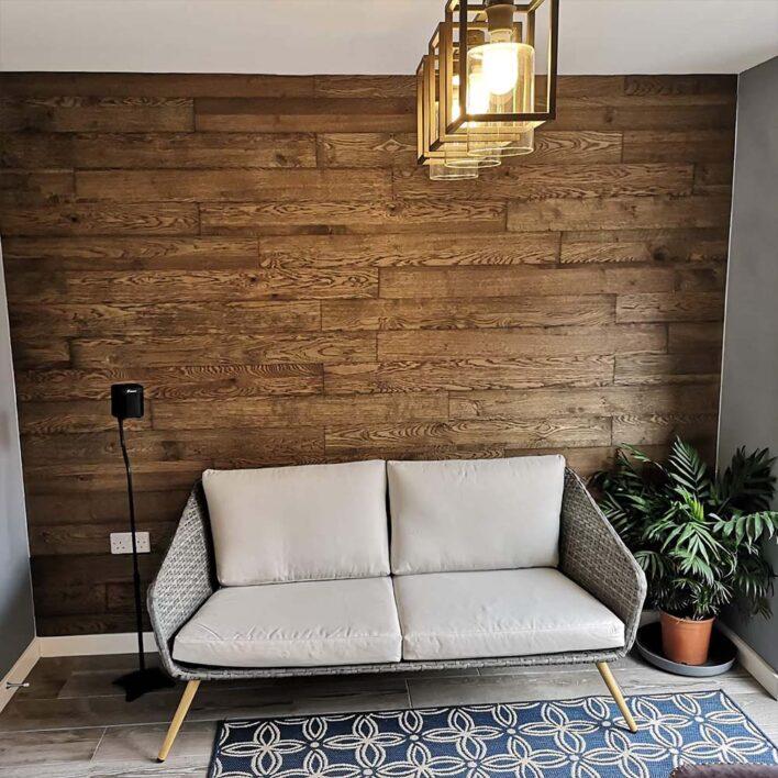 lambris decoratif bois