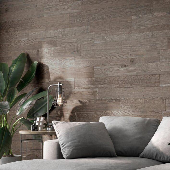 panneau bois decoratif interieur marron